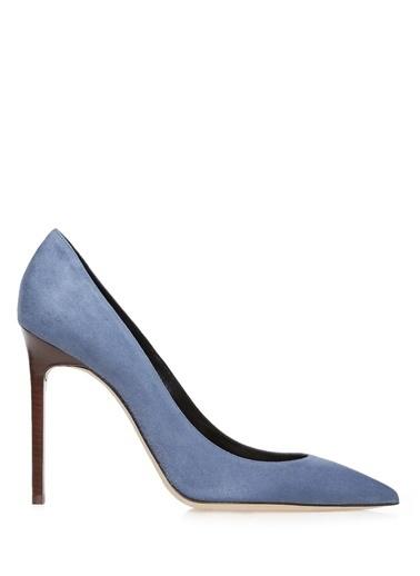 %100 Deri Stiletto Ayakkabı-Saint Laurent